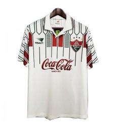 Retro Fluminense Away Soccer Jerseys Hommes Football Shirts Uniformes 1989-1990