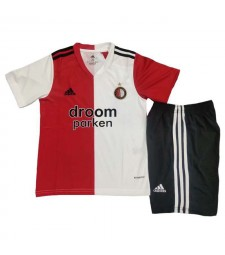 Feyenoord maillot de football à domicile kit enfants maillots de football uniformes 2020-2021
