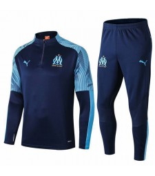 survêtement olympique marseille royal blue 2019-2020