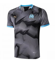 Olympique De Marseille Training Jersey Gray Printing 2019-2020