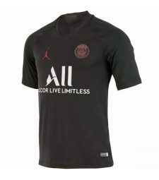 Maillot Jordan Paris Saint Germain Domicile Noir 2019-2020