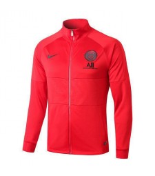 Veste Jordan Paris Saint Germain Rouge Col Haut 2019-2020