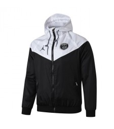 Jordan Paris Saint Germain Blanc Noir Windrunner 2019-2020