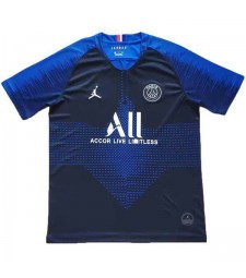 Maillot d'entraînement de football Paris Saint Germain Bleu 2019-2020