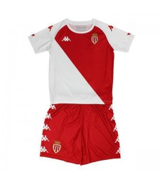 AS Monaco Kid Kit Maillots de football Accueil Maillots de foot Uniformes 2020-2021