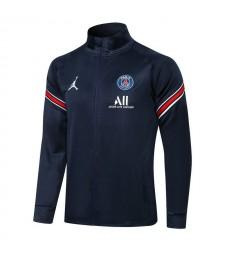 Jordan Paris Saint-Germain Royal Blue Soccer Jacket Pants Mens Football Survêtement Uniformes 2021-2022