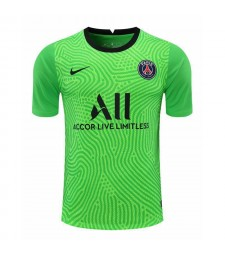 Paris Saint-Germain Vert Gardien De But Maillot De Football Maillots De Football Uniformes 2020-2021