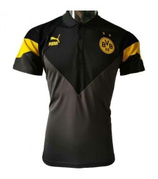 Borussia Dortmund Black New Polo Shirt 2020