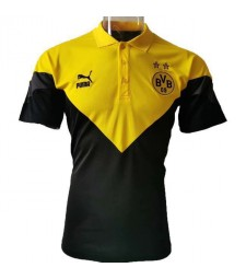 Borussia Dortmund Yellow Black New Polo Shirt 2020