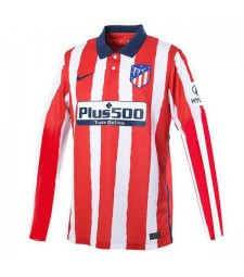 Atletico De Madrid domicile maillot de football à manches longues maillots de football uniformes 2020-2021