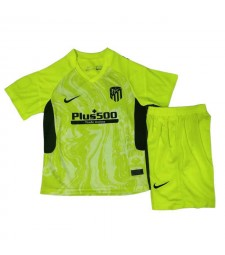 Atletico De Madrid troisième maillot de football kit enfants maillots de football uniformes 2020-2021