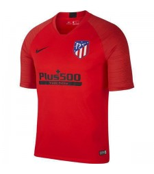 Atletico Madrid Training Jersey Football Hommes Football Teal Sportwear T-shirt Rouge 2019