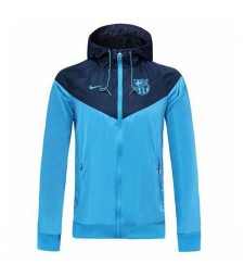 Veste à capuche Barcelona Light Blue 2019-2020