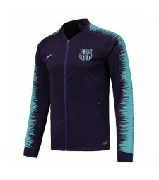Barcelona Purple Printed Sleeve Jacket 2018/2019