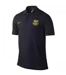 Maillot Barcelone Polo Homme Noir 2019-2020