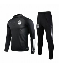 Argentina National Team Black Zipper Tracksuit 2019-2020