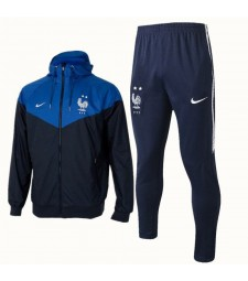 France Royal Blue Windrunner+Pant 2018/2019