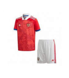 Russia Home Euro 2020 Kids Soccer Kit