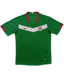 Maillots de football à domicile rétro Mexique Maillots de football pour hommes Uniformes 2006-2007