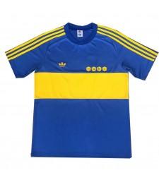 Boca Juniors Retro Home Soccer Jerseys Maillots de football pour hommes Uniformes 1981