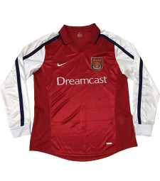 Arsenal Accueil Maillot Rétro Hommes Premier Soccer Sportswear Football Manches Longues 2000