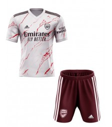 Arsenal Away Soccer Jersey Kids Kit 2020-2021