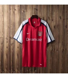 Arsenal Home Retro Football Maillot de foot pour Homme 2000