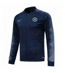 Chelsea Royal Blue Printed Sleeve Jacket 2018/2019