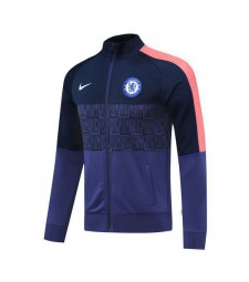 Chelsea Royal Blue Player Version Football Mens Soccer Jacket 2020-2021