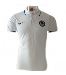 Chelsea White Polo Shirt 2019