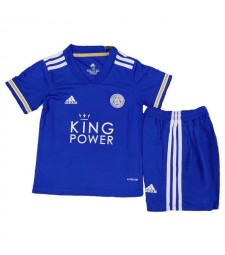 Leicester City maillot de football kit enfants maillot de football à domicile uniformes 2020-2021