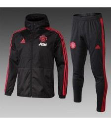 Manchester United Black Windrunner+Pant 2018/2019