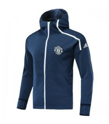Manchester United Blue Hoodie 2018/2019