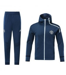 Manchester United Royal Blue Tracksuit Hoodie 2018/2019