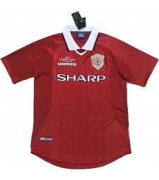 Maillot rétro Manchester United 1999-2000