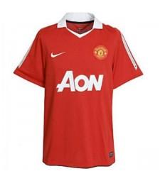 Maillot de football rétro Manchester United Domicile Maillot de football pour hommes 2010-2011