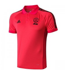 Maillot Manchester United Polo Rouge 2019