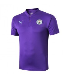 Polo d'entraînement Manchester City Purple 2019-2020