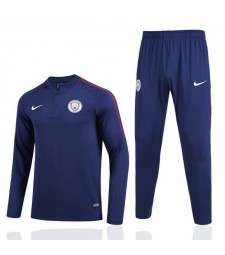 Manchester City Thicker Zipper Tracksuit 2017/18