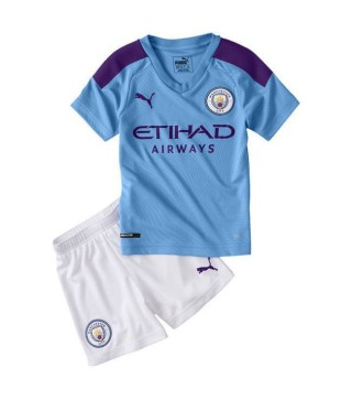 Kit de maillot domicile Manchester City Kids 2019-2020