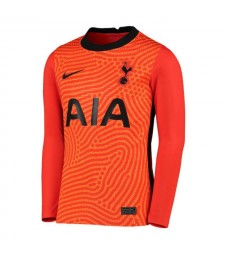 Tottenham Hotspur gardien de but orange à manches longues maillot de football maillots de football uniformes 2020-2021