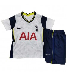Maillots de football Tottenham Hotspur Kit enfants Maillots de football à domicile uniformes 2020-2021