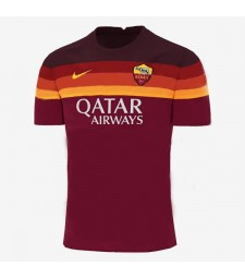 Maillot de football As Roma domicile maillot de football pour hommes 2020-2021