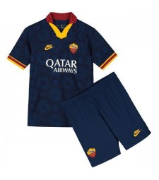 Maillot de football pour enfants As Roma Third Kids Kit 2019-2020