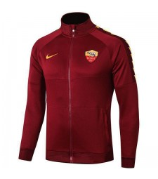 Comme manteau de football en plein air d'entraînement de football de veste rouge de football de Roma Red 2019-2020