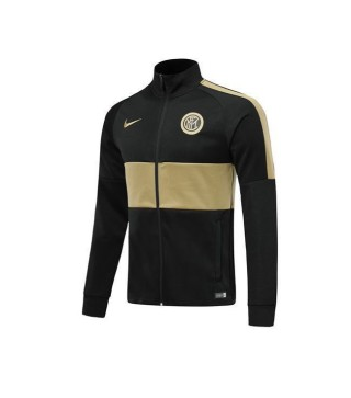 Blouson Inter Milan All Zip Noir Or 2019-2020