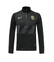 Inter Milan Veste Costume Borland Football Manteau De Football Noir 2019-2020