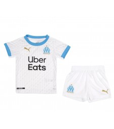 Olympique de Marseille Kids Childs Young Kit Home Soccer Jersey Football Vêtements Uniforme 2020-2021