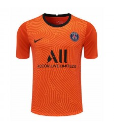 Paris Saint-Germain Orange Gardien de but Soccer Jersey Football Shirts Uniformes 2020-2021
