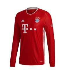 Bayern Munich domicile maillot de football à manches longues maillots de football uniformes 2020-2021